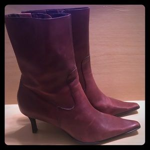 Diba Leather Boots sz9